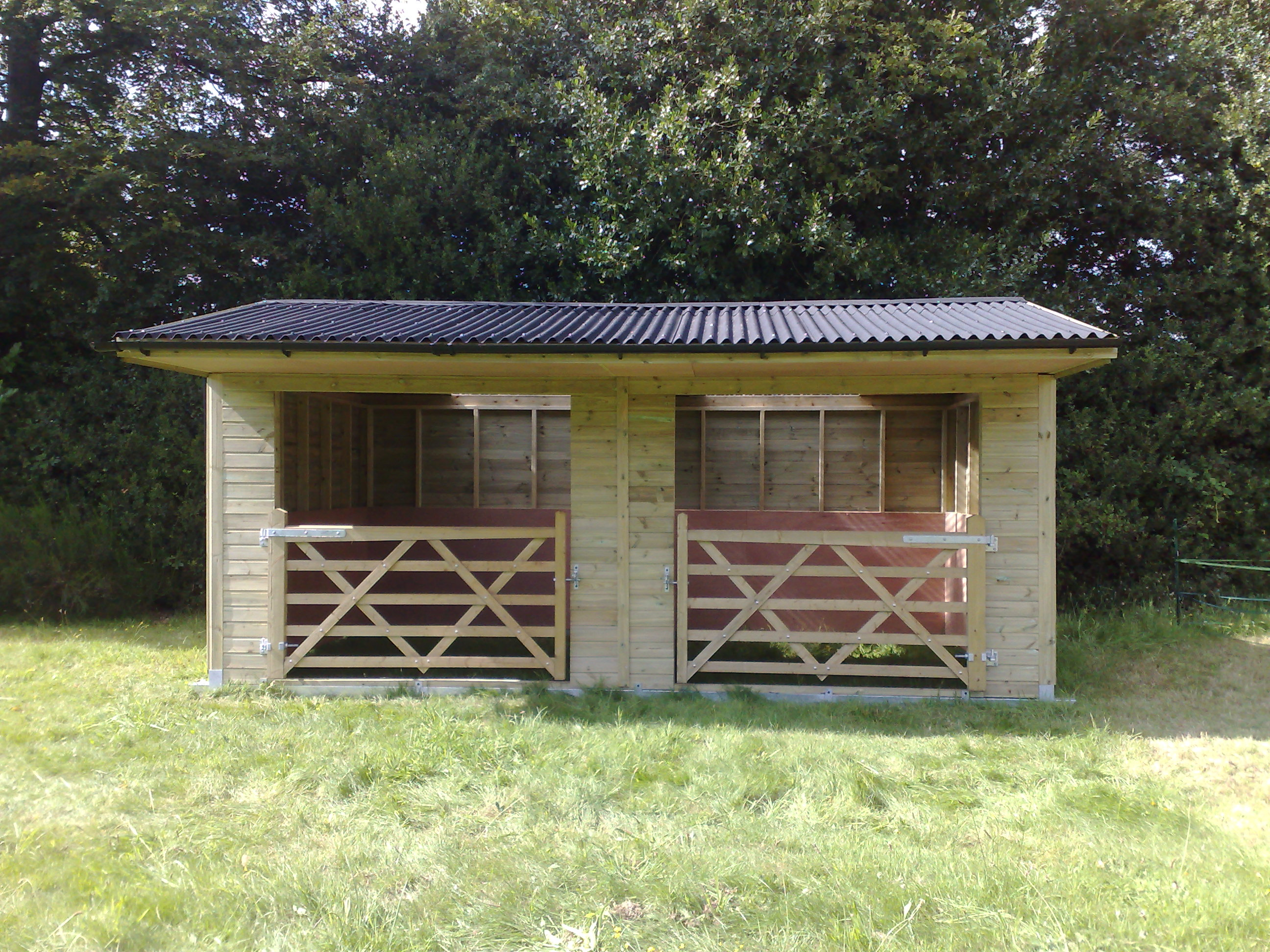 Photo Gallery | Horse Stables For Sale | Garden Sheds Worcestershire |