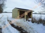 10x20 field shelter for horses