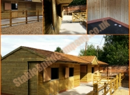 Horse stables by Stable Build Company