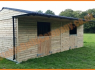 12x24 mobile horse stable in Surrey
