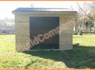 Mobile field shelter in Derbyshire