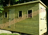 Storage shed, garden shed, bike shed in Broadway, Worcestershire