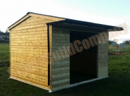 Horse shelter, field shelter, mobile field shelter